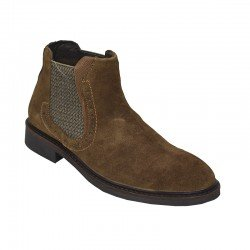 LONDONS LIFE SUEDE LEATHER OXFORD CAMEL 65751