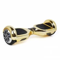 """SMART BALANCE HOVERBOARD TRANSFORMERS WHEEL WITH BLUETOOTH & LED ΗΛΕΚΤΡΙΚΟ ΠΑΤΙΝΙ METALLIC GOLD 6.5"""""""