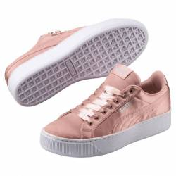 PUMA VIKKY PLATFORM EN POINTE WOMEN'S SHOES 365239-01 PEACH BEIGE