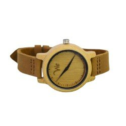 BAMBOO WATCH UNISEX -  ΡΟΛΟΙ ΜΠΑΜΠΟΥ WE BROWNLEA 900664