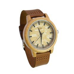 BAMBOO WATCH UNISEX -  ΡΟΛΟΙ ΜΠΑΜΠΟΥ WE BROWNLEA 900670