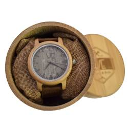 BAMBOO WATCH UNISEX -  ΡΟΛΟΙ ΜΠΑΜΠΟΥ WE BROWNLEA 900669