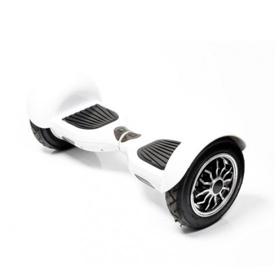 """SMART BALANCE HOVERBOARD WHEEL WITH BLUETOOTH & LED ΗΛΕΚΤΡΙΚΟ ΠΑΤΙΝΙ WHITE 10"""""""