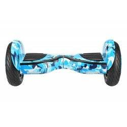 SMART BALANCE HOVERBOARD BIG WHEEL WITH BLUETOOTH & LED ΗΛΕΚΤΡΙΚΟ ΠΑΤΙΝΙ  BLUE CAMOUFLAGE 10.5''