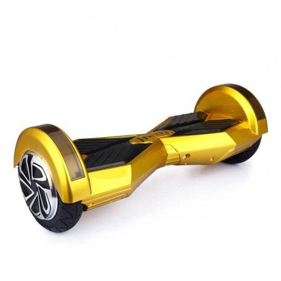 SMART BALANCE HOVERBOARD WHEEL WITH BLUETOOTH & LED ΗΛΕΚΤΡΙΚΟ ΠΑΤΙΝΙ GOLD 8