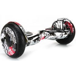 SMART BALANCE HOVERBOARD BIG WHEEL WITH BLUETOOTH & LED ΗΛΕΚΤΡΙΚΟ ΠΑΤΙΝΙ GRAFFITI 10.5''