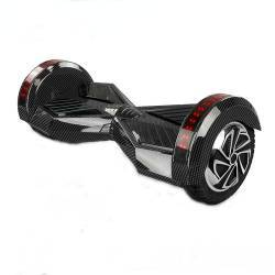 SMART BALANCE HOVERBOARD WHEEL WITH BLUETOOTH & LED ΗΛΕΚΤΡΙΚΟ ΠΑΤΙΝΙ BLACK CARBON 8