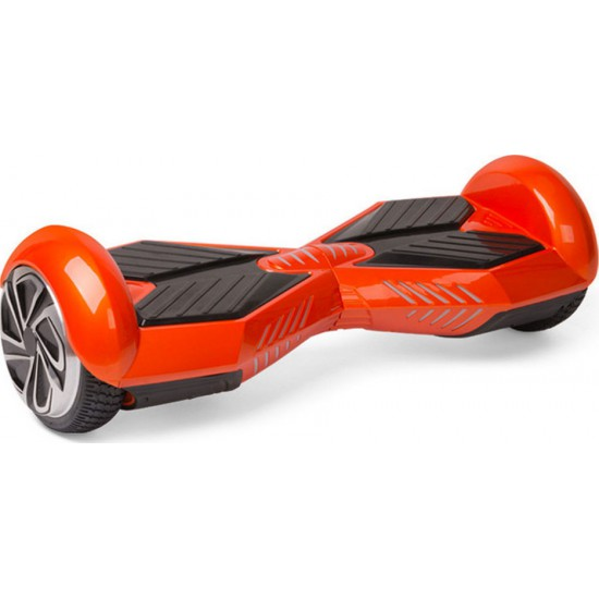 SMART BALANCE HOVERBOARD WHEEL WITH BLUETOOTH & LED LAMBORGHINI ΗΛΕΚΤΡΙΚΟ ΠΑΤΙΝΙ RED BLACK 8''