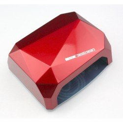 QUICK CCFL LED NAILS LAMP ΦΟΥΡΝΑΚΙ ΝΥΧΙΩΝ RED 24W