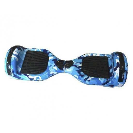 "HOVERBOARD TRANSFORMERS - ΗΛΕΚΤΡΙΚΟ ΠΑΤΙΝΙ M-S6T ARMY BLUE 6,5"" HB40"