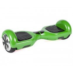HOVERBOARD TRANSFORMERS WHEEL WITH BLUETOOTH & LED ΗΛΕΚΤΡΙΚΟ ΠΑΤΙΝΙ ΙΣΟΡΡΟΠΙΑΣ GREEN A3 6.5""