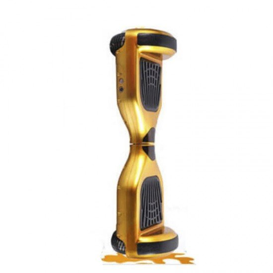 "SMART BALANCE HOVERBOARD TRANSFORMERS BLUETOOTH & LED ΗΛΕΚΤΡΙΚΟ ΠΑΤΙΝΙ ORANGE GOLD 6.5"""