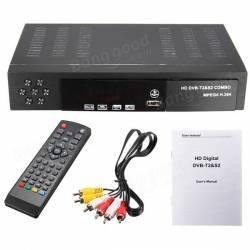 MPEG4 DVB-T2 HD/SDTV RECEIVER DIGITAL TELEISION BOX-BLACK