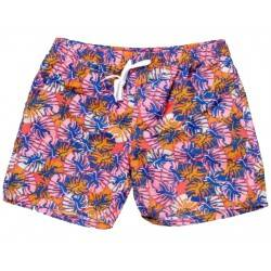 SOUL STAR ΑΝΔΡΙΚΟ ΜΑΓΙΟ CORAL TROPICAL FLORAL SWIMMING SHORTS 33-231-002