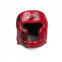 BOXING TAEKWONDO MMA HELMET HEAD PROTECTOR KARATE SPARRING KICKBOXING RED