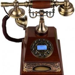VINTAGE TELEPHONE IDS-930 ΡΕΤΡΌ ΣΤΑΘΕΡΟ ΤΗΛΕΦΩΝΟ ΕΠΙΤΡΑΠΕΖΙΟ ΕΝΣΥΡΜΑΤΟ 30109-1