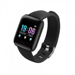 116 PLUS SMARTWATCH FITNESS ΜΑΥΡΟ 116-PLUS