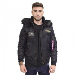 BISTON BOMBER JACKET BLACK 38-201-062