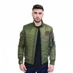 BISTON BOMBER JACKET KHAKI 38-201-099