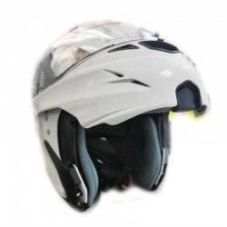 LS2 ΚΡΑΝΟΣ ΜΗΧΑΝΗΣ MOTORCYCLE MODULAR FULL FACE HELMET WHITE M-MAC