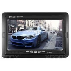 7INCH TFT LCD CAR REAR VIEW MONITOR AV BLACK