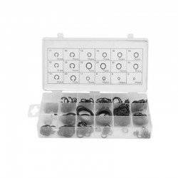 225PCS SET CIRCLIPS C-CLIP MOSQUETON INTERNAL EXTERNAL WASHERS SNAP RETAINING RING