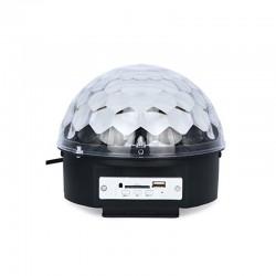 BLUETOOTH ΦΩΤΟΡΥΘΜΙΚΟ LED CRYSTAL MAGIC BALL LIGHT ΜΕ USB MP3 PLAYER