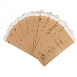 100 PCS 100X200MM DISPOSABLE STERILLIZATION BAG FOR COSMETICS NAIL TOOL DISINFECTION MACHINE ACCESSORY