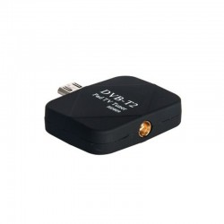 DIGITAL TV RECEIVER FOR ANDROID DEVICES MICRO USB (DVB-T2) BLACK OEM