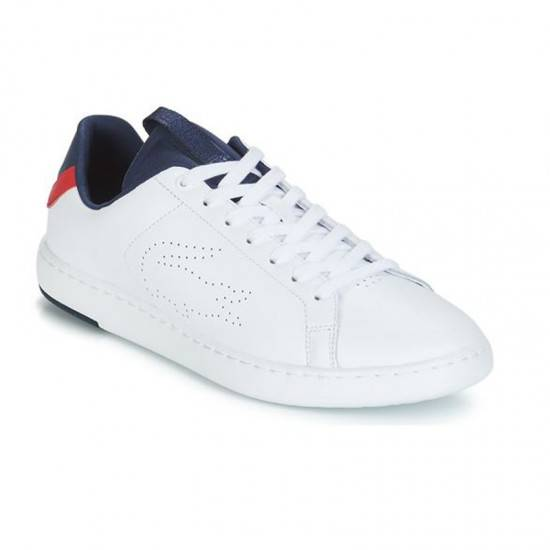 cb7acd8a4cbc LACOSTE CARNABY EVO LIGHT-WT SNEAKERS ΑΝΔΡΙΚΑ LACOSTE ΛΕΥΚΟ 7-37SMA0015407