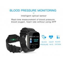 A6 SMARTWATCH FITNESS TRACKER HEART RATE MONITOR ANDROID IOS