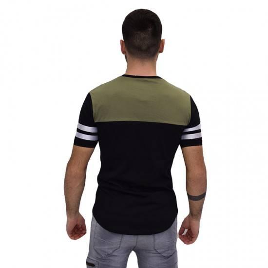 AL FRANCO ΑΝΔΡΙΚΟ T-SHIRT BLACK ALF42