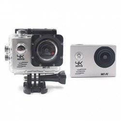 ACTION CAMERA 4K WIFI SILVER F60