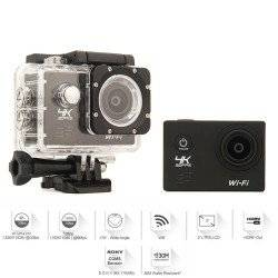 ACTION CAMERA 4K WIFI BLACK F60