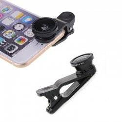 BE WAVE OBJECTIF FISH-EYE POUR SMARTPHONE