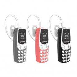 BM90 MINI BLEUTOOTH ΚΙΝΗΤΟ ΤΗΛΕΦΩΝΟ DIALER HEADSET MAGIC VOICE CALL MII GSM CARD PHONE RED