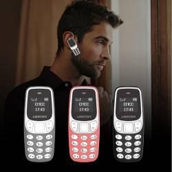 BM90 MINI BLEUTOOTH ΚΙΝΗΤΟ ΤΗΛΕΦΩΝΟ DIALER HEADSET MAGIC VOICE CALL MII GSM CARD PHONE BLACK