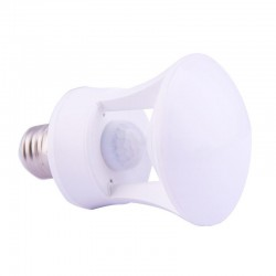 ΛΑΜΠΑ LED E27 HUMAN INFRARED INDUCTION BULB C929