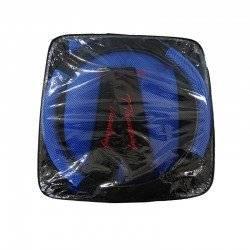ΣΕΤ ΚΑΛΥΜΜΑΤΑ ΑΥΤΟΚΙΝΗΤΟΥ ΜΕ ΤΡΥΠΕΣ 11 TMX CAR SEAT COVER BLACK/BLUE
