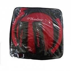 ΣΕΤ ΚΑΛΥΜΜΑΤΑ ΑΥΤΟΚΙΝΗΤΟΥ ΜΕ ΤΡΥΠΕΣ 11 TMX CAR SEAT COVER BLACK/RED