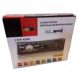 MP3 PLAYER AYTΟΚΙΝΗTOY RADIO AUTO USB SD MP3 AUX 4X60W LCD  CDX-4208