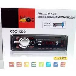 MP3 PLAYER AYTΟΚΙΝΗTOY RADIO AUTO USB SD MP3 AUX 4X60W LCD  CDX-4209
