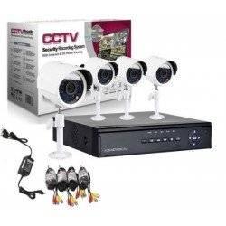 ΠΛΗΡΕΣ ΕΓΧΡΩΜΟ ΣΕΤ CCTV ΕΠΟΠΤΕΙΑΣ ΚΑΙ ΚΑΤΑΓΡΑΦΗΣ ΜΕ 4 ΚΑΜΕΡΕΣ