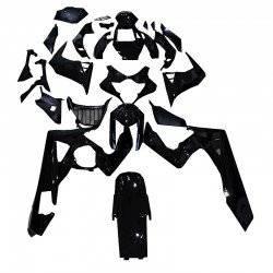 SUZUKI GSXR K5 K6 ΚΙΤ ΠΛΑΣΤΙΚΩΝ ΟΛΟΚΛΗΡΟ ΚΟΣΤΟΥΜΙ FULL FAIRINGS KIT BLACK ΠΛΑΣΤΙΚΑ ABS MATT 2005 2006