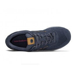 NEW BALANCE ML574JFC DARK BLUE SUEDE ΑΝΔΡΙΚΑ LIFESTYLE