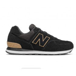 NEW BALANCE ML574JFE BLACK SUEDE ΑΝΔΡΙΚΑ LIFESTYLE