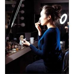 ΦΩΤΙΣΤΙΚΟ LED ΔΑΧΤΥΛΙΔΙ 25,5cm DIMMER ΚΑΙ ΤΡΙΠΟΔΟ ΕΠΙΛΟΓΗ 3 ΧΡΩΜΑΤΩΝ - LED RING LIGHT