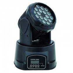 ΡΟΜΠΟΤΙΚΟ ΦΩΤΟΡΥΘΜΙΚΟ 60/90W 4 IN 1 RGBW LED STAGE LIGHT DMX512 MOVING HEAD LIGHT DS-LED641AB