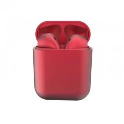 ΑΣΥΡΜΑΤΑ ΑΚΟΥΣΤΙΚΑ ΤΥΠΟΥ IPHONE INPODS 12 ELEVEN RED