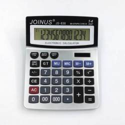 JOINUS JS-838 ΑΡΙΘΜΟΜΗΧΑΝΗ 14 ΨΗΦΙΩΝ ΜΕ ΔΙΠΛΗ ΠΑΡΟΧΗ ΕΝΕΡΓΕΙΑΣ